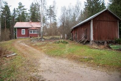 Irmeli ja Bengt Ekin maatila.